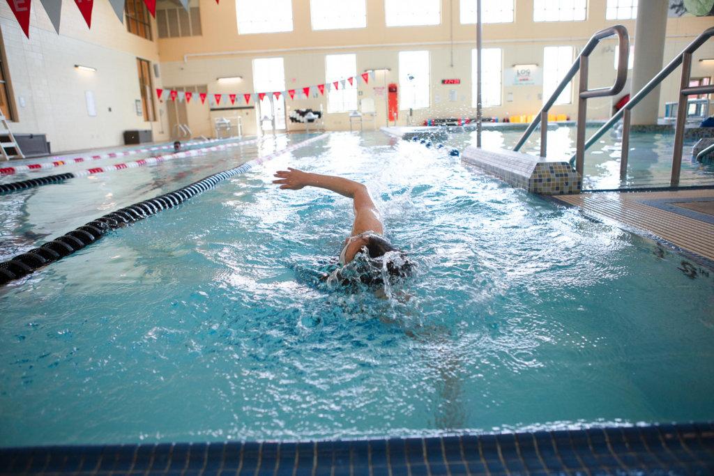 Lap Swimming at the Kroc